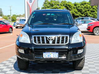 2008 Toyota Landcruiser Prado GRJ120R GXL Black 5 Speed Automatic Wagon.