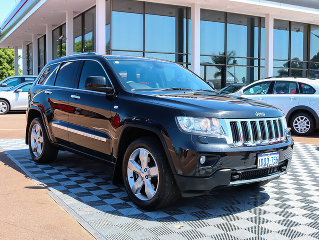 Used Jeep Grand Cherokee WK MY2011 Limited, 2010 Jeep Grand Cherokee WK MY2011 Limited Black 5 Speed Sports Automatic Wagon