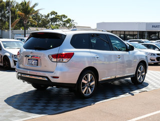 2015 Nissan Pathfinder R52 MY15 Ti X-tronic 2WD Silver 1 Speed Constant Variable Wagon