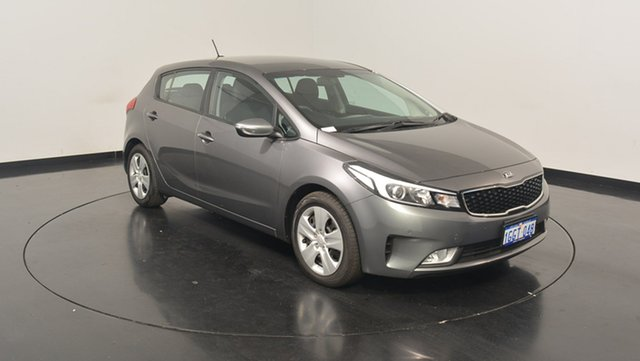 Used Kia Cerato YD MY17 S, 2017 Kia Cerato YD MY17 S Metal Stream 6 Speed Sports Automatic Hatchback