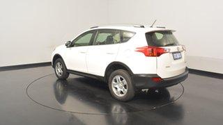2013 Toyota RAV4 ZSA42R GX 2WD White 7 Speed Constant Variable Wagon.