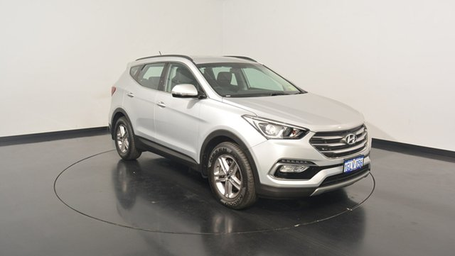 Used Hyundai Santa Fe DM3 MY17 Active, 2017 Hyundai Santa Fe DM3 MY17 Active Platinum Silver Metallic 6 Speed Sports Automatic Wagon