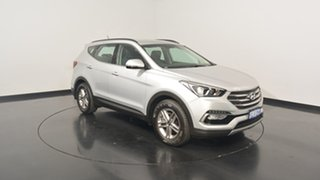 2017 Hyundai Santa Fe DM3 MY17 Active Platinum Silver Metallic 6 Speed Sports Automatic Wagon