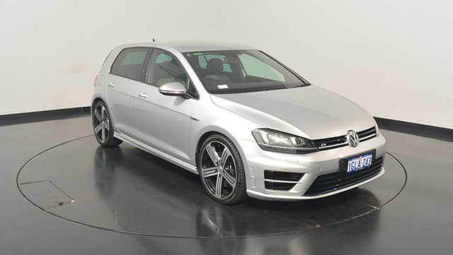 Used Volkswagen Golf VII MY15 R DSG 4MOTION, 2014 Volkswagen Golf VII MY15 R DSG 4MOTION Silver 6 Speed Sports Automatic Dual Clutch Hatchback