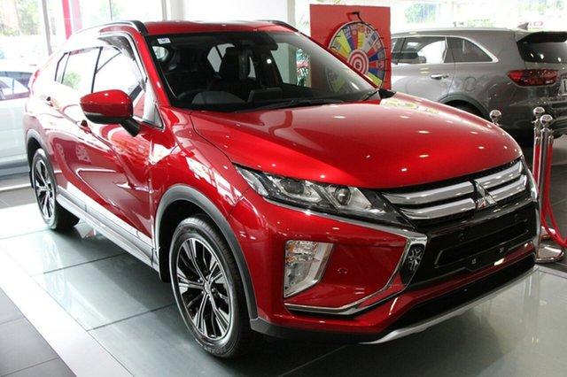 New Mitsubishi Eclipse Cross YA MY18 LS 2WD, 2018 Mitsubishi Eclipse Cross YA MY18 LS 2WD Brilliant Red 8 Speed Constant Variable Wagon