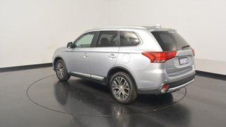 2016 Mitsubishi Outlander ZK MY17 LS 2WD Cool Silver 6 Speed Constant Variable Wagon.