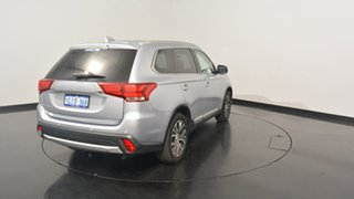 2016 Mitsubishi Outlander ZK MY17 LS 2WD Cool Silver 6 Speed Constant Variable Wagon