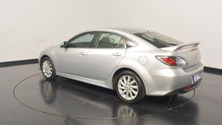 2011 Mazda 6 GH1052 MY10 Classic Silver 5 Speed Sports Automatic Sedan.