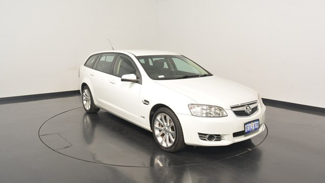 Used Holden Commodore VE II MY12 Equipe Sportwagon, 2011 Holden Commodore VE II MY12 Equipe Sportwagon White 6 Speed Sports Automatic Wagon