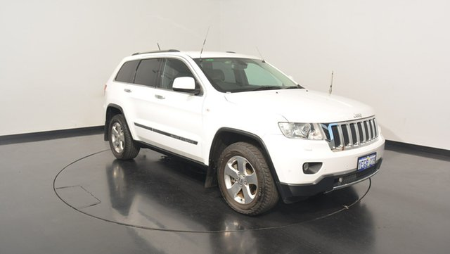 Used Jeep Grand Cherokee WK MY2013 Limited, 2013 Jeep Grand Cherokee WK MY2013 Limited Bright White 5 Speed Sports Automatic Wagon