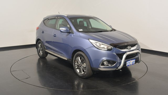 Used Hyundai ix35 LM3 MY15 SE, 2014 Hyundai ix35 LM3 MY15 SE Blue 6 Speed Sports Automatic Wagon