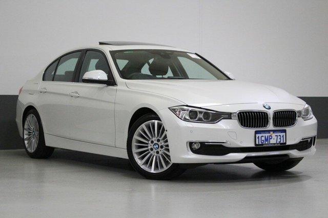 Used BMW 320D F30 MY15 Upgrade Luxury Line, 2015 BMW 320D F30 MY15 Upgrade Luxury Line Mineral White 8 Speed Automatic Sedan