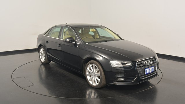 Used Audi A4 B8 8K MY13 S tronic quattro, 2013 Audi A4 B8 8K MY13 S tronic quattro Black 7 Speed Sports Automatic Dual Clutch Sedan