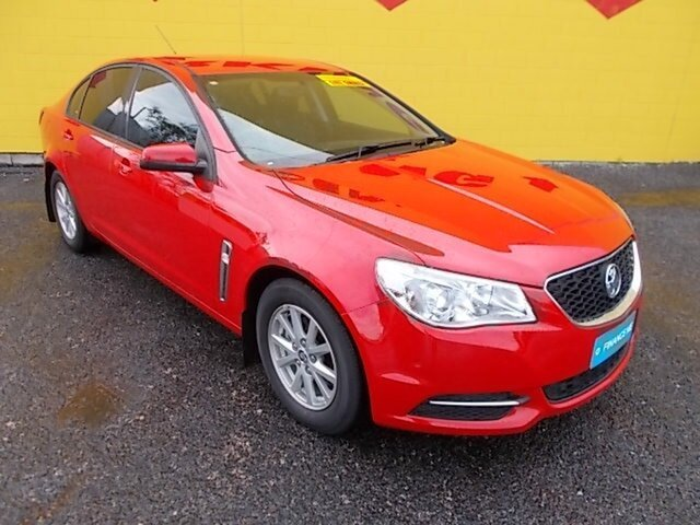 Used Holden Commodore VF MY14 Evoke, 2014 Holden Commodore VF MY14 Evoke Red 6 Speed Sports Automatic Sedan