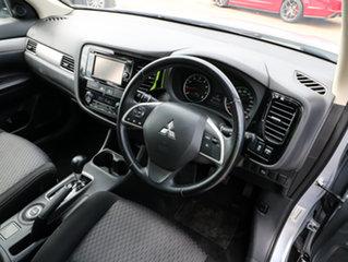 2015 Mitsubishi Outlander ZJ MY14.5 ES 4WD Silver 6 Speed Constant Variable Wagon