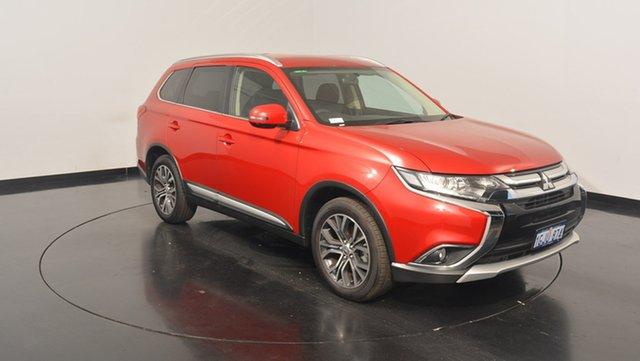 Used Mitsubishi Outlander ZK MY17 LS 2WD, 2017 Mitsubishi Outlander ZK MY17 LS 2WD Red 6 Speed Constant Variable Wagon