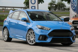2017 Ford Focus LZ RS AWD Winning Blue 6 Speed Manual Hatchback.