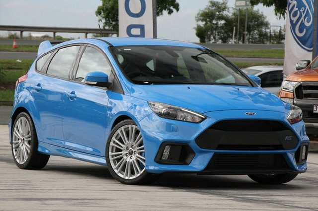 New Ford Focus LZ RS AWD, 2017 Ford Focus LZ RS AWD Winning Blue 6 Speed Manual Hatchback