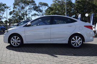 2019 Hyundai Accent RB6 MY18 Sport Chalk White 6 Speed Sports Automatic Sedan