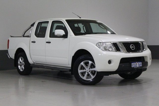 Used Nissan Navara D40 MY12 ST (4x4), 2013 Nissan Navara D40 MY12 ST (4x4) White 6 Speed Manual Dual Cab Pick-up