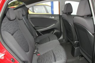 2017 Hyundai Accent RB6 MY18 Sport Pulse Red 6 Speed Manual Sedan