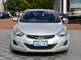 2011 Hyundai Elantra MD Active Silver 6 Speed Sports Automatic Sedan.
