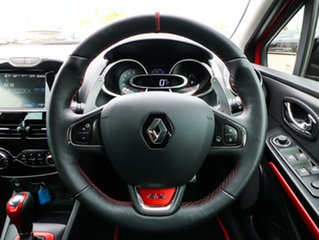 2015 Renault Clio IV B98 R.S. 200 EDC Cup Premium Red 6 Speed Sports Automatic Dual Clutch Hatchback