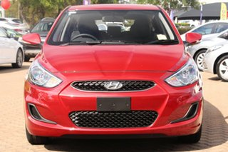 2017 Hyundai Accent RB6 MY18 Sport Pulse Red 6 Speed Sports Automatic Hatchback
