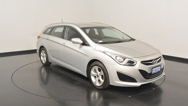 Used Hyundai i40 VF Active Tourer, 2011 Hyundai i40 VF Active Tourer White 6 Speed Sports Automatic Wagon