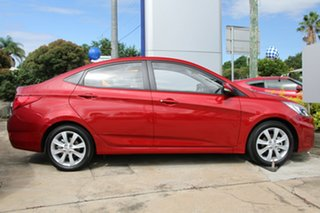 2017 Hyundai Accent RB6 MY18 Sport Pulse Red 6 Speed Manual Sedan.