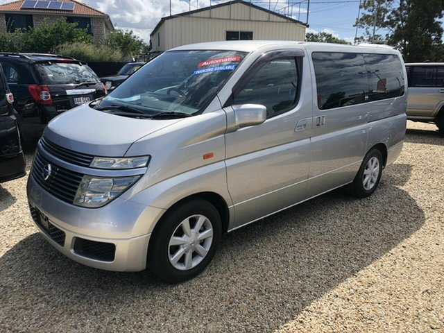 Used Nissan Elgrand E51 Highway Star, 2003 Nissan Elgrand E51 Highway Star Silver 5 Speed Automatic Wagon