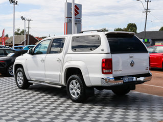 2014 Volkswagen Amarok 2H MY14 TDI400 4Mot Highline White 6 Speed Manual Utility