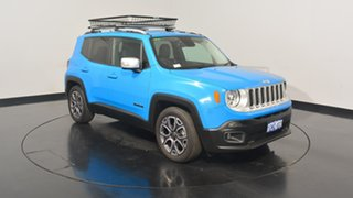 2015 Jeep Renegade BU MY15 Limited DDCT Sierra Blue 6 Speed Sports Automatic Dual Clutch Hatchback
