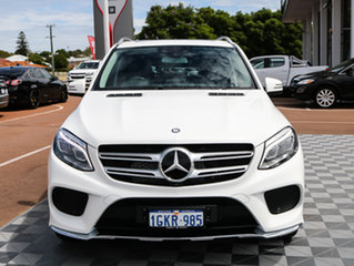 2016 Mercedes-Benz GLE500 W166 807MY e 7G-TRONIC + 4MATIC White 7 Speed Sports Automatic Wagon.