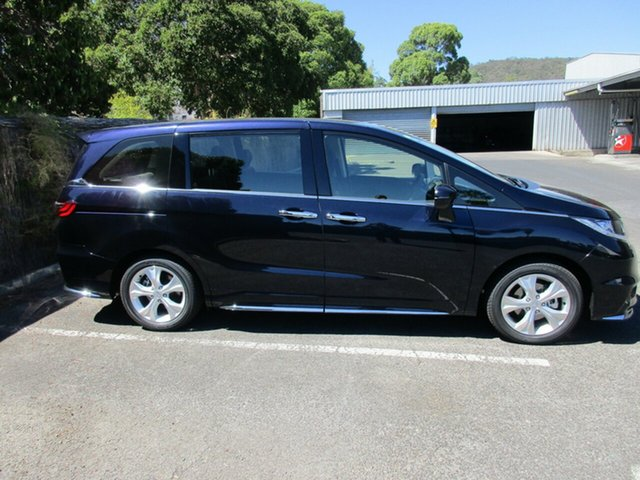 Demo Honda Odyssey RC MY18 VTi, 2018 Honda Odyssey RC MY18 VTi Premium Twinkle Black Kt 7 Speed Constant Variable Wagon