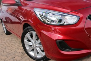 2017 Hyundai Accent RB6 MY18 Sport Pulse Red 6 Speed Sports Automatic Hatchback.