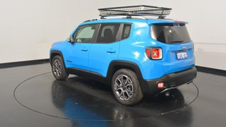 2015 Jeep Renegade BU MY15 Limited DDCT Sierra Blue 6 Speed Sports Automatic Dual Clutch Hatchback.