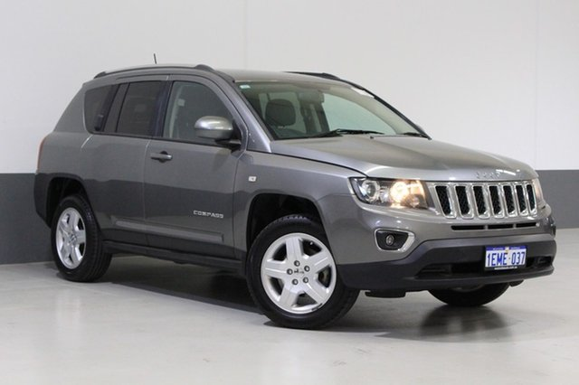 Used Jeep Compass MK MY14 North (4x2), 2013 Jeep Compass MK MY14 North (4x2) Silver 6 Speed Automatic Wagon