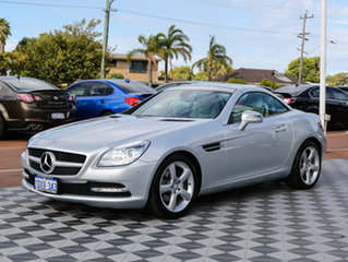 2012 Mercedes-Benz SLK200 R172 BlueEFFICIENCY 7G-Tronic + Silver 7 Speed Sports Automatic Roadster
