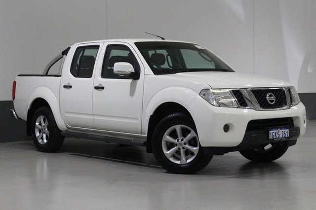 Used Nissan Navara D40 MY12 ST (4x4), 2013 Nissan Navara D40 MY12 ST (4x4) White 5 Speed Automatic Dual Cab Pick-up