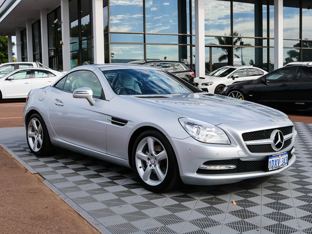Used Mercedes-Benz SLK200 R172 BlueEFFICIENCY 7G-Tronic +, 2012 Mercedes-Benz SLK200 R172 BlueEFFICIENCY 7G-Tronic + Silver 7 Speed Sports Automatic Roadster