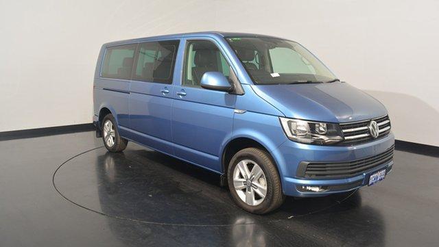 Used Volkswagen Multivan T6 MY17.5 TDI340 LWB DSG Comfortline, 2017 Volkswagen Multivan T6 MY17.5 TDI340 LWB DSG Comfortline Acapulco Blue 7 Speed