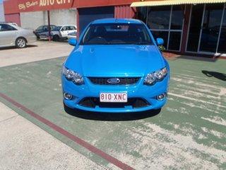 2009 Ford Falcon FG XR8 Ute Super Cab Blue 6 Speed Manual Utility.