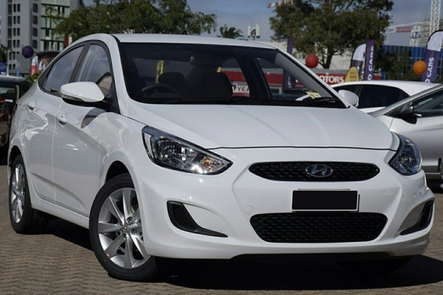 New Hyundai Accent RB6 MY18 Sport, 2018 Hyundai Accent RB6 MY18 Sport Chalk White 6 Speed Sports Automatic Sedan