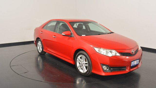 Used Toyota Camry ASV50R Atara SL, 2011 Toyota Camry ASV50R Atara SL Red 6 Speed Sports Automatic Sedan