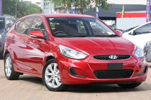 New Hyundai Accent RB6 MY18 Sport, 2017 Hyundai Accent RB6 MY18 Sport Pulse Red 6 Speed Sports Automatic Hatchback