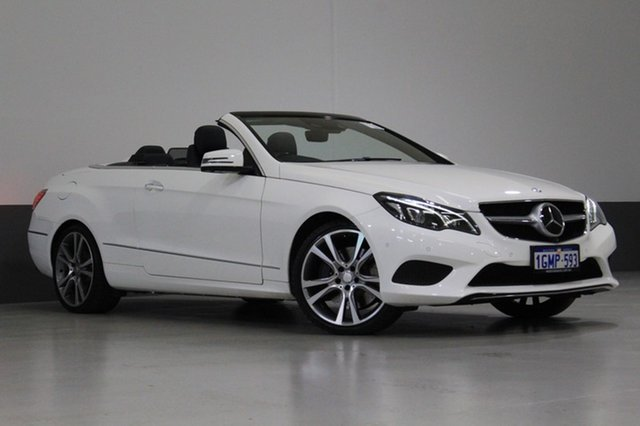 Used Mercedes-Benz E400 207 MY13 , 2013 Mercedes-Benz E400 207 MY13 White 7 Speed Automatic Cabriolet