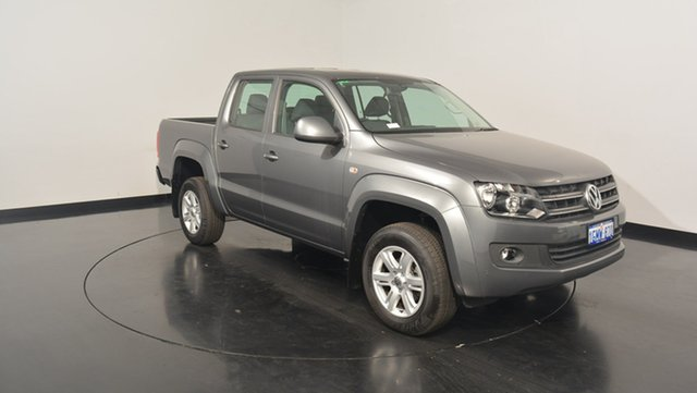 Used Volkswagen Amarok 2H MY17 TDI420 4MOTION Perm Core, 2017 Volkswagen Amarok 2H MY17 TDI420 4MOTION Perm Core Natural Grey 8 Speed Automatic Utility