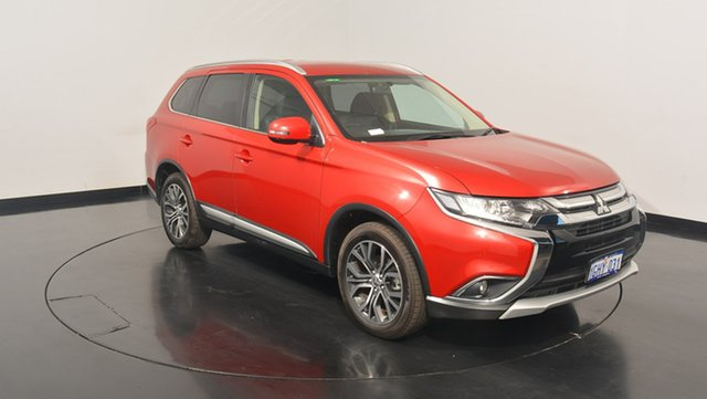 Used Mitsubishi Outlander ZK MY17 LS 4WD, 2017 Mitsubishi Outlander ZK MY17 LS 4WD Red 6 Speed Constant Variable Wagon