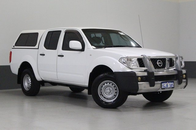 Used Nissan Navara D40 MY12 RX (4x4), 2012 Nissan Navara D40 MY12 RX (4x4) White 5 Speed Automatic Dual Cab Pick-up